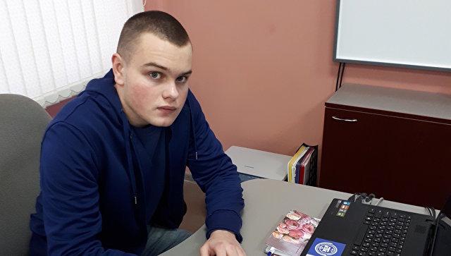 Студент 2 курса Ковровского транспортного колледжа Андрей Зубатов, спасший пассажирова маршрутного автобуса
