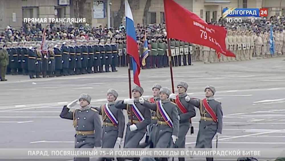Минобороны наказало виновных в создании Знамени Победы без серпа и молота в Волгограде
