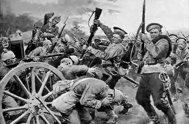25 самых эффективных штыковых атак русской пехоты в Великую войну