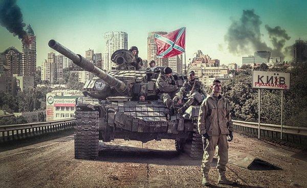 Половина Киева готова встать под флаги Новороссии