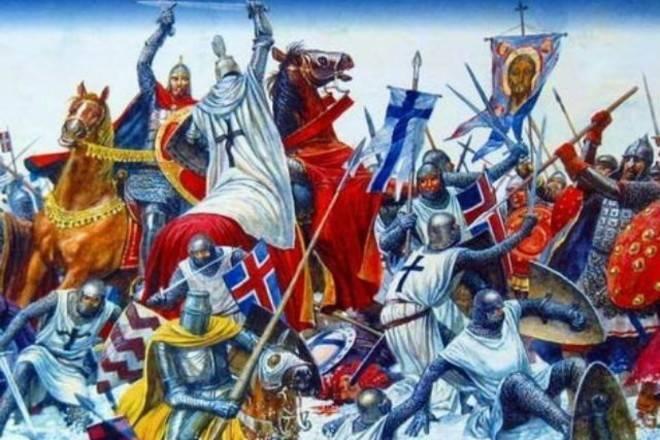 Ледовое побоище: великая битва Руси против Запада