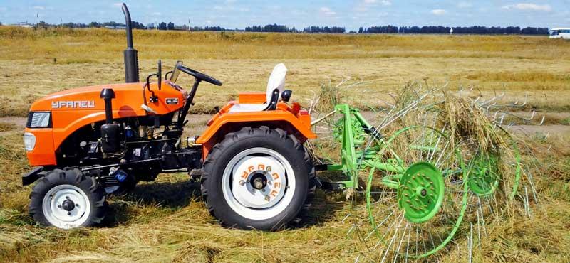 Есть, чем гордиться. Россия выпускает высококлассные мини-тракторы