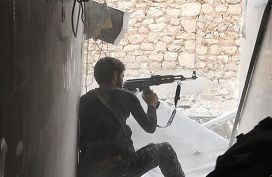 Боевик Исламского государства в Кобани