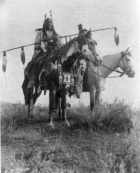 Индейцы в штате Монтана, 1908 год