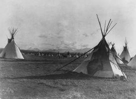 Резервация в штате Монтана