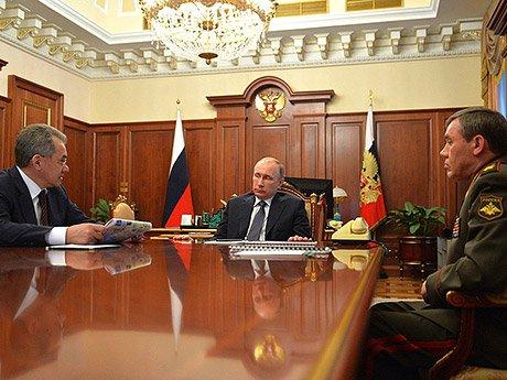 «Сергей Шойгу рассказал Путину об уничтожении более чем 2000 боевиков, выходцев из России, в их числе — 17 полевых командиров»