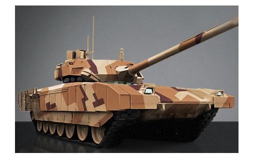"Модель танка ""Армата"" Т-14"
