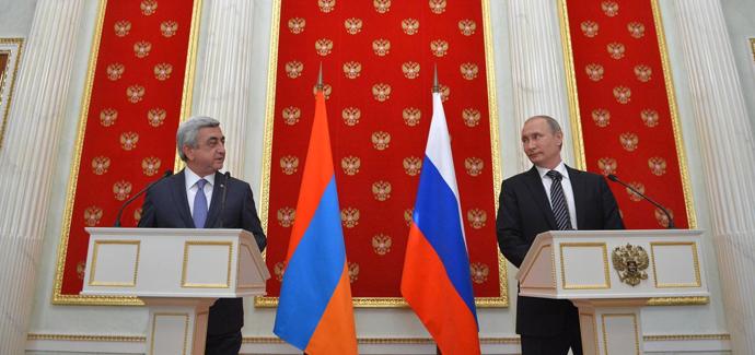 Патриотическая передовица: Станислав Тарасов. Россия и Армения создают единую армию.