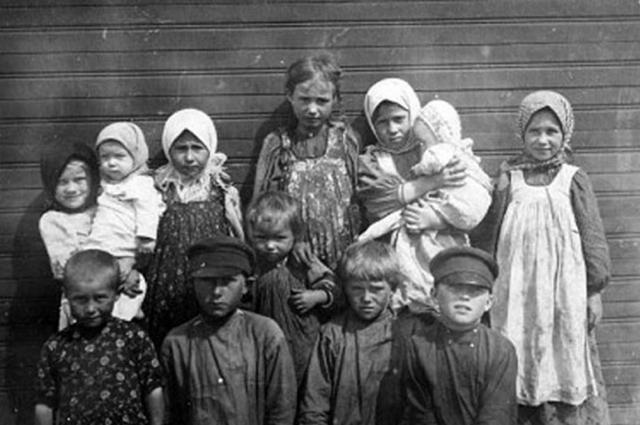 В стране был колоссальный уровень детской смертности. Фото: Public Domain