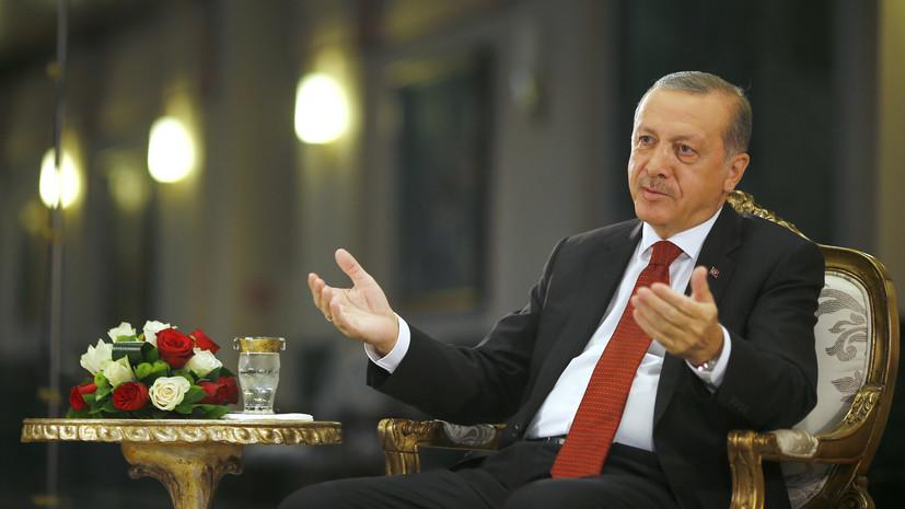 Турецкие СМИ: Эрдоган в письме Путину извинился на русском языке