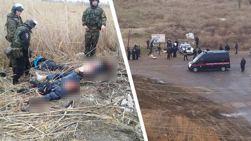 Нападение на Росгвардию в Астрахани: ликвидированы четыре боевика