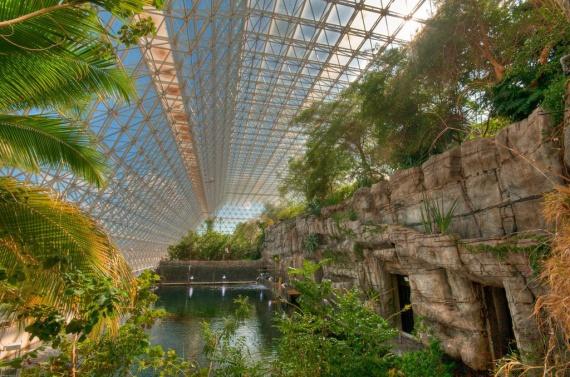 Биосфера 2 замкнутая экосистема зелень: Экопоселения, экодеревни