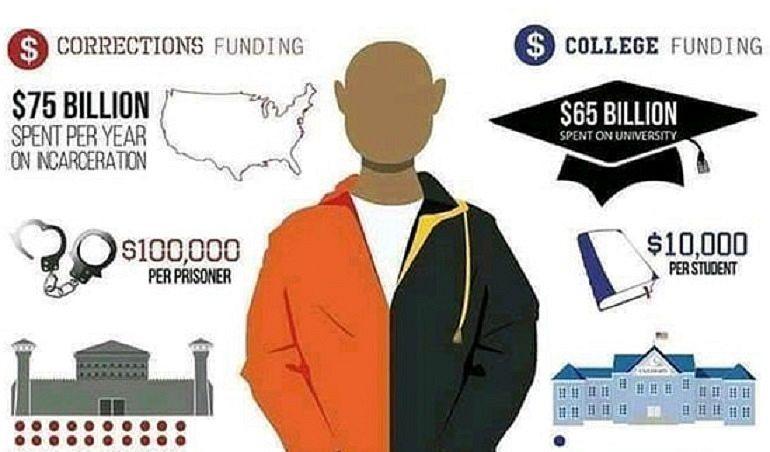 Преступность и образование США в цифрах