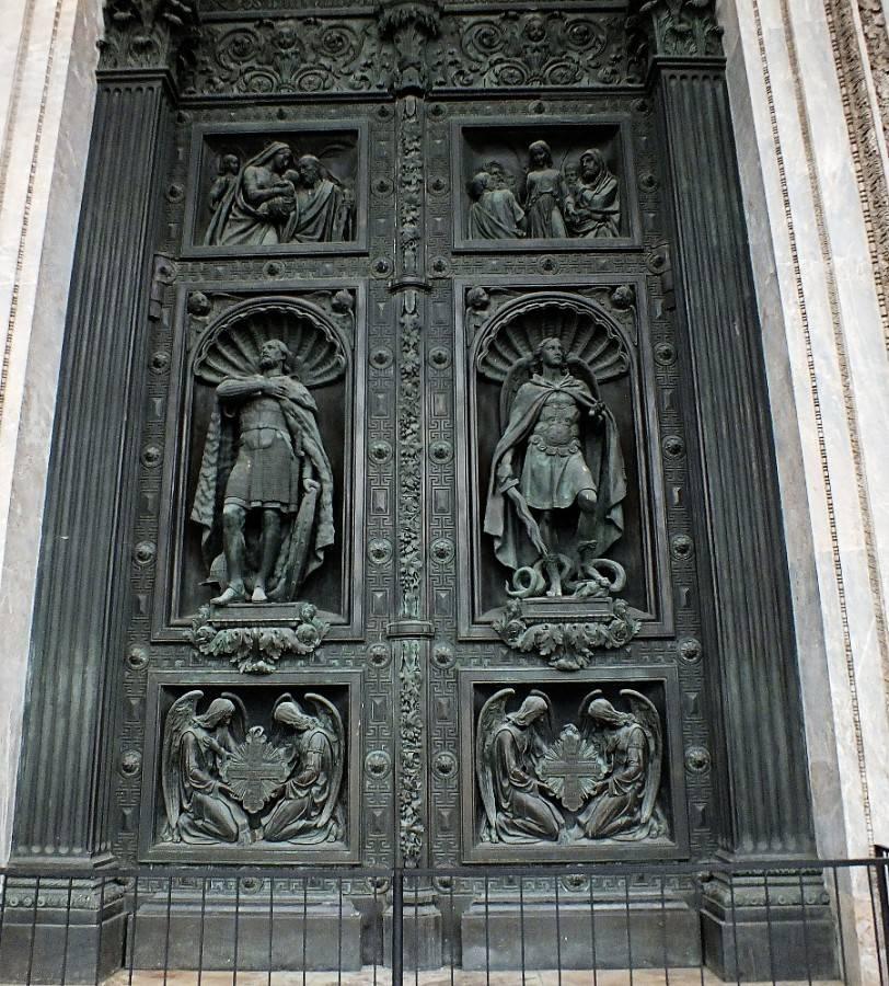 01 Исакий дверь кресты