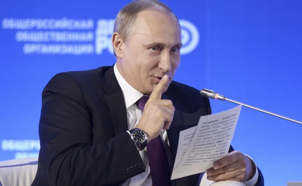 Стратегия Владимира Путина: «Конец близок»