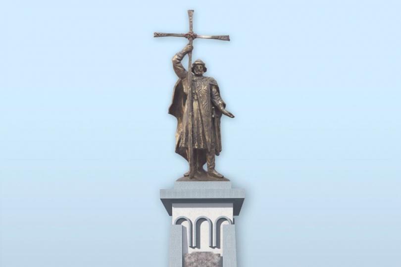 Эскиз памятника князю Владимиру в Калининграде. Фото: Александр Катеруша