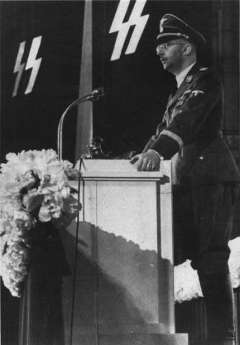 Выступление Гиммлера перед личным составом СС