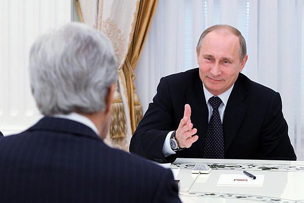 Керри приезжал поставить Путину ультиматум