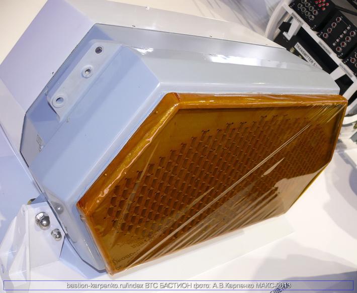 АФАР Х-диапазона бокового обзора (БО)