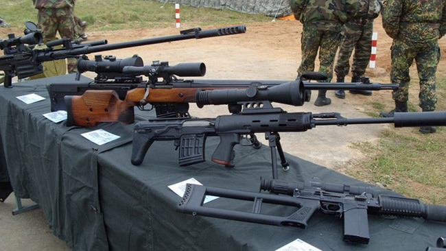 Syrian Army Forces Using Newest Russian Rifle to Fight against Terrorists