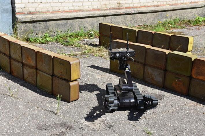 """Мобильный робот Сервосила """"Инженер"""""""