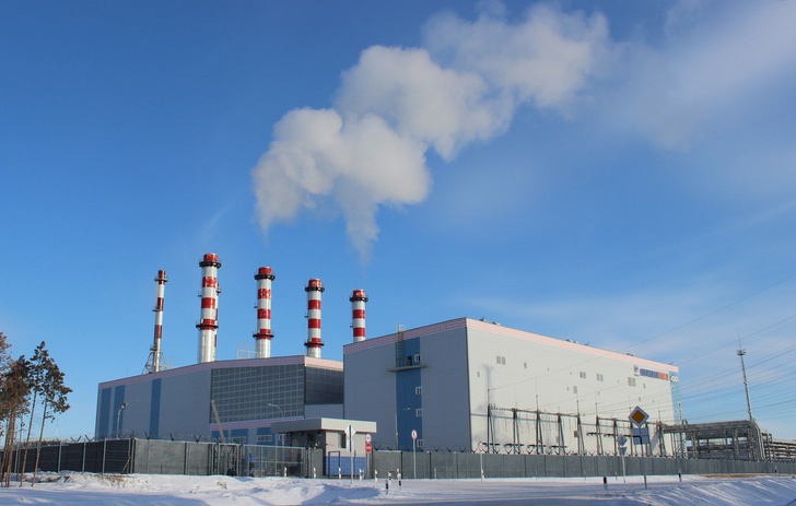 Якутская ГРЭС-2, основная площадка