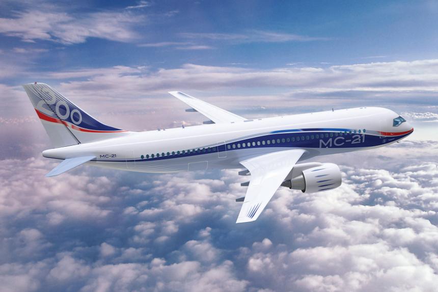Самолет будущего МС-21 покоряет российское небо