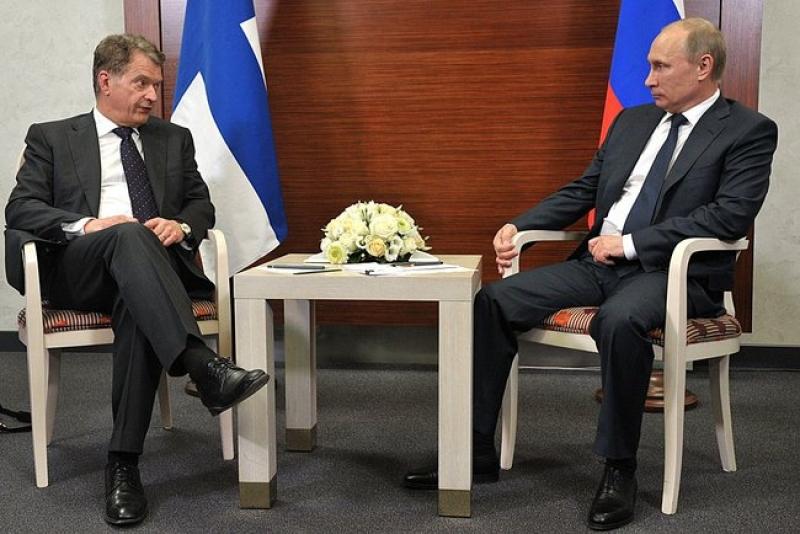 Путин и Саули Нийнистё