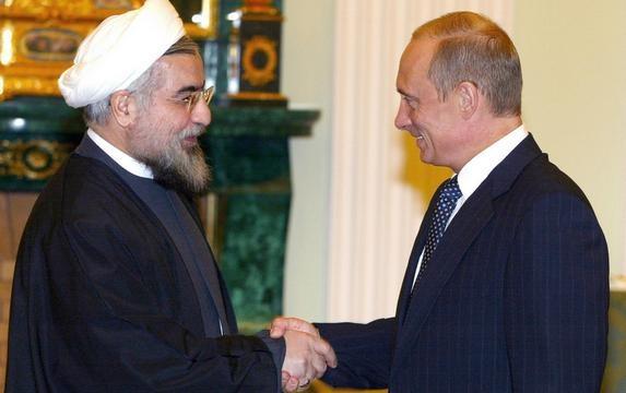 Владимир Путин и президент Ирана Хасан Роухани Фото: http://inotv.rt.com