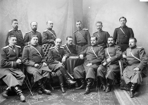 офицеры охранного отделения Российской империи|Фото: vk.com