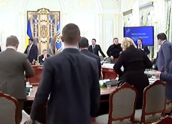 Аваков, Саакашвили, Порошенко Фото: youtube.com