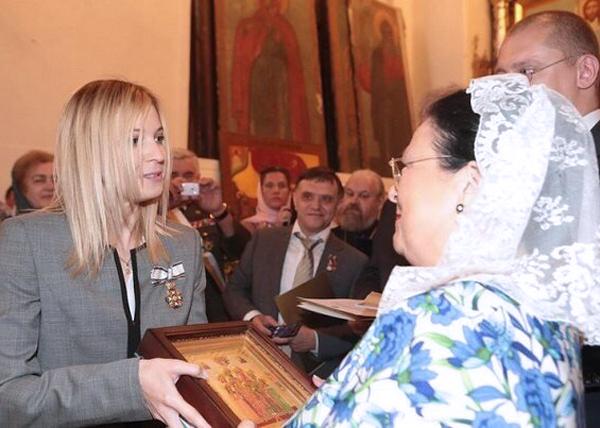 Поклонская и Мария Владимировна Романова|Фото: ru-an.info