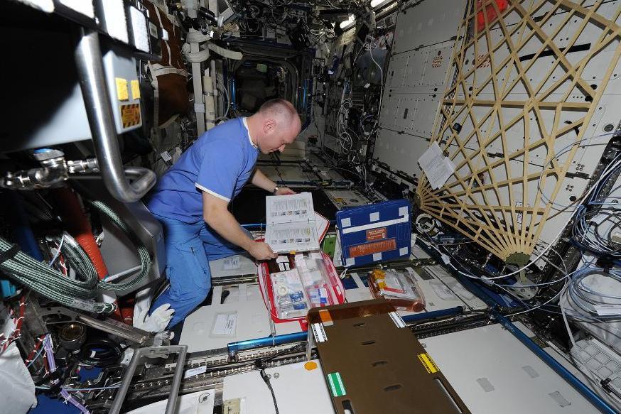 Работа на МКС