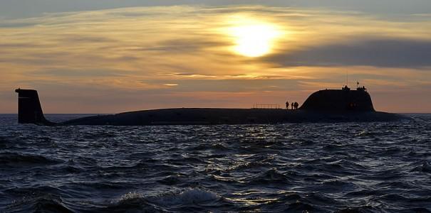 «Северодвинск» выходит в море.