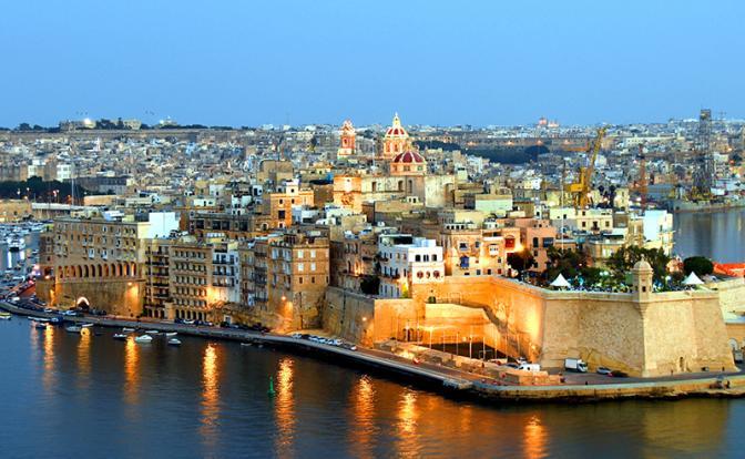 На фото: виды Валетты, Мальта