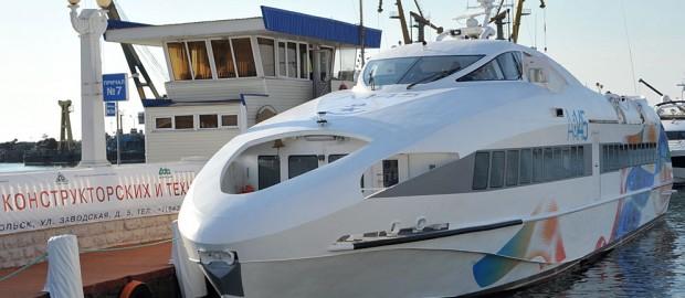 Новейшие пассажирские корабли A-145 загрузят мощности заводов Крыма под завязку