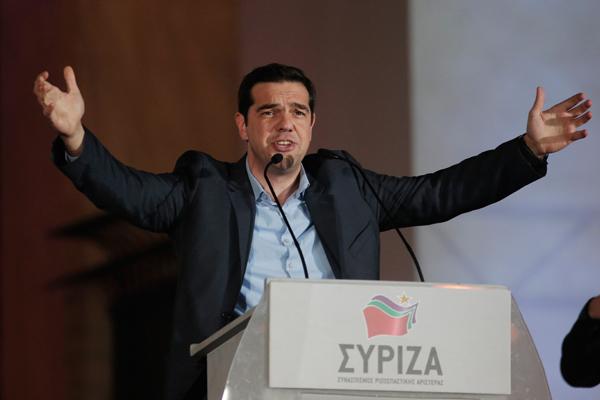 Лидер СИРИЗА Алексис Ципрас. Фото: Lefteris Pitarakis / AP