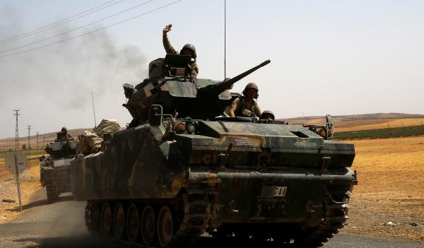 Турция за сутки нанесла удары по 103 объектам ДАИШ в Сирии