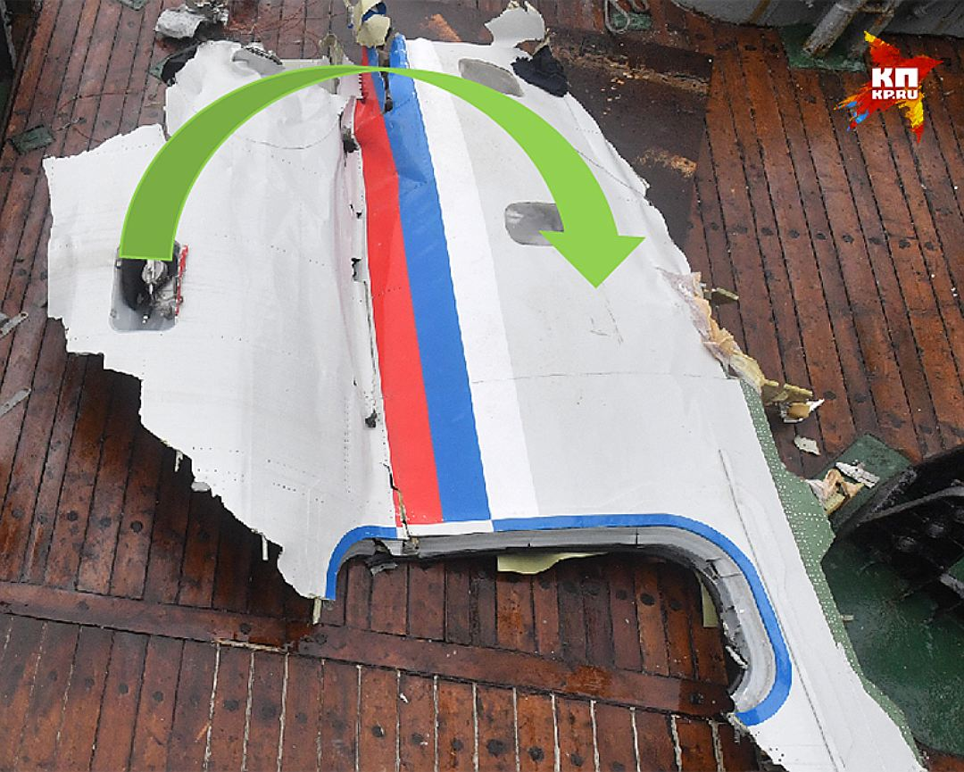 Расположение на обломке технологической ниши Фото: Владимир ВЕЛЕНГУРИН