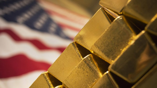 Золотое надгробье США